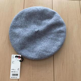 ユニクロ(UNIQLO)の新品 ユニクロ ベレー帽(ハンチング/ベレー帽)