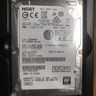 エレコム(ELECOM)のHGST  HDD 1TB  値下げしました(PCパーツ)