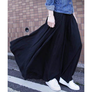 アンティカ(antiqua)のアンティカ フレアデザインスカート(ロングスカート)