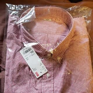 ユニクロ(UNIQLO)のユニクロ メンズ チェック柄 長袖3XL(シャツ)