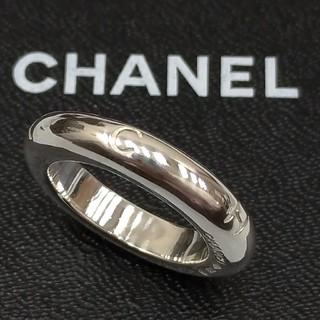 シャネル(CHANEL)のシャネルリング シルバー(リング(指輪))
