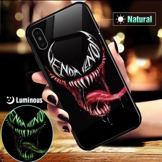 おしゃれ iphone7plus ケース 新作 、 MARVEL VENOM 耐衝撃 iphoneケース スマホケース 発光タイプの通販 by ターキ屋   プロフ見てね|ラクマ