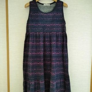 8917b797ff8c1 シマムラ(しまむら)のワンピース チュニック Lサイズ(ひざ丈ワンピース)