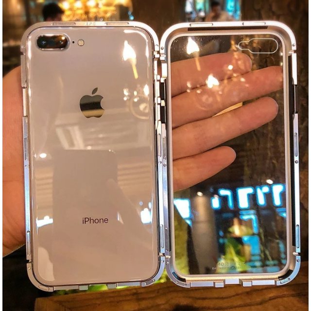louis アイフォーン8plus ケース 安い 、 透明 iPhone ケース シルバー の通販 by basscl-takahi's shop|ラクマ