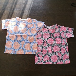 アナップキッズ(ANAP Kids)の半額【新品】ANAP 半袖Tシャツ 100 110 兄弟 姉弟リンクコーデ(Tシャツ/カットソー)
