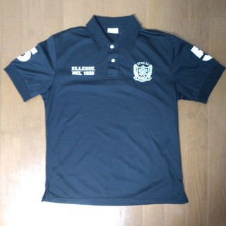 エレッセ(ellesse)のポロシャツ Lサイズ 黒 ellesse(ポロシャツ)