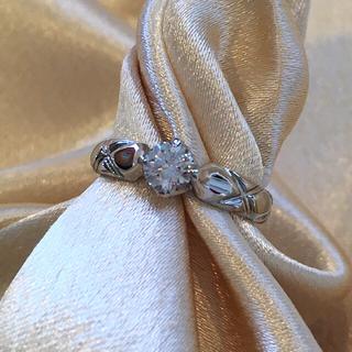 シャネル(CHANEL)のシャネル マトラッセ ダイヤモンド リング 7号 プラチナ ファインジュエリー(リング(指輪))
