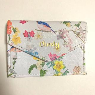 チェスティ(Chesty)の未使用 チェスティ ミニ財布 美人百花(財布)