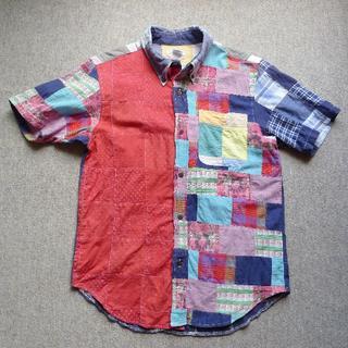 BEAMS BOY - ★BEAMS BOY半袖シャツ パッチワーク