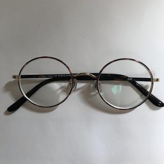 ゾフ(Zoff)のゾフ 丸メガネ べっこう 金(サングラス/メガネ)