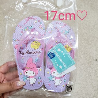 マイメロディ(マイメロディ)の新品♡マイメロちゃんのサンダル♡17cm(サンダル)