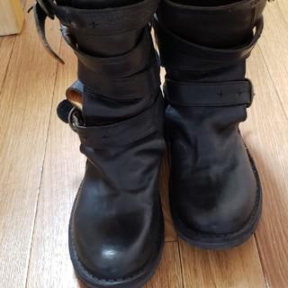 ドゥーズィエムクラス(DEUXIEME CLASSE)のFIORENTINI+BAKER レザー ベルト ブーツ(ブーツ)
