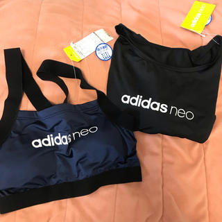 アディダス(adidas)のスポーツブラ トレーニングTシャツ 2点セット(トレーニング用品)