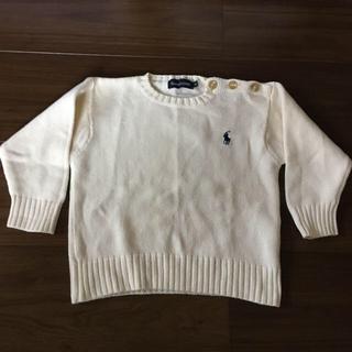 ラルフローレン(Ralph Lauren)のラルフローレン 綿セーター80(ニット/セーター)