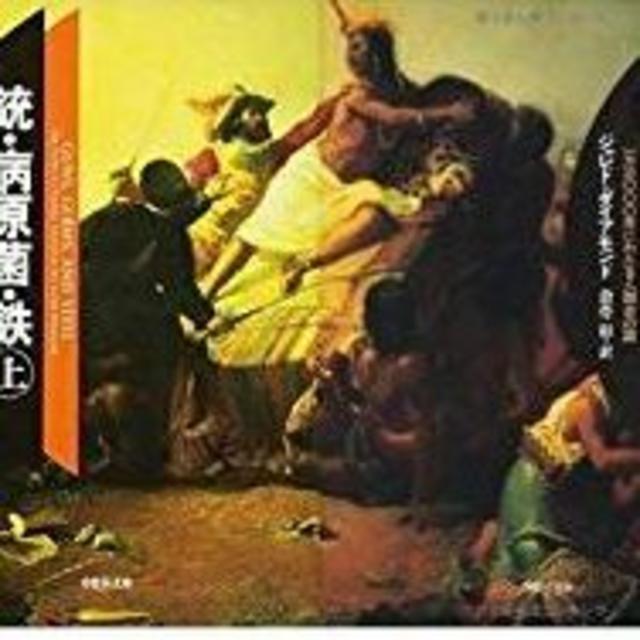 銃・病原菌・鉄 文庫 (上)(下)巻セット  エンタメ/ホビーの本(人文/社会)の商品写真