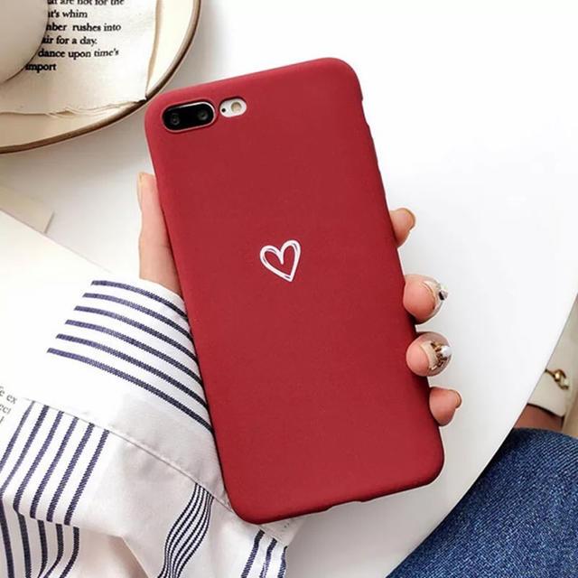 iphone x ケース クレヨン しんちゃん 、 ハート シンプル iPhoneカバーの通販 by JYUBEYHOUSE|ラクマ