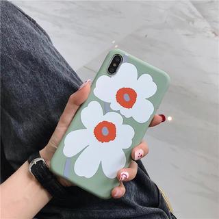 ミナペルホネン(mina perhonen)の新品 花柄 レトロ 北欧 ヴィンテージ ウニッコ マリメッコ iPhoneケース(iPhoneケース)
