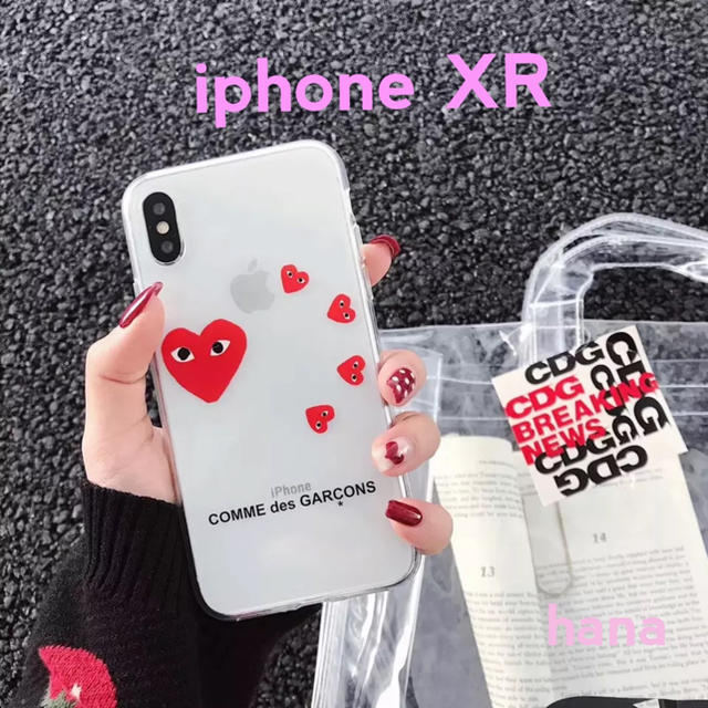 COMME des GARCONS - ギャルソン iphoneケース  iphone XR 用の通販 by hana's shop|コムデギャルソンならラクマ