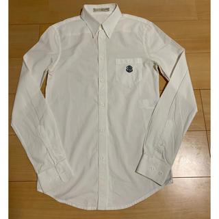 バレンシアガ(Balenciaga)のBALENCIAGA ワンポイントシャツ 白シャツ(シャツ)