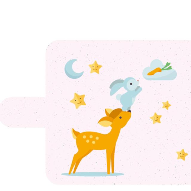新品送料無料手帳型iPhoneケース バンビ ピンクの通販 by ゴリラ's shop|ラクマ