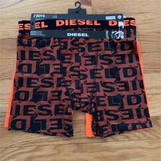 ディーゼル(DIESEL)のDIESEL キッズ ボクサーパンツ2枚セット XL / メンズ S相当 (ボクサーパンツ)