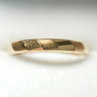 K18 イエローゴールドリング ( 約3.1g 18号) (リング(指輪))