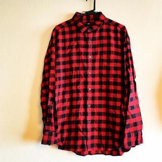 ユニクロ(UNIQLO)の美品 UNIQLO チェックシャツ(シャツ)