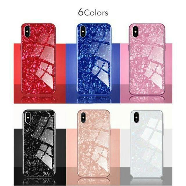 のえる様専用大理石柄 クリスタル シェル ケース iPhone7/8 ホワイトの通販 by TKストアー |ラクマ