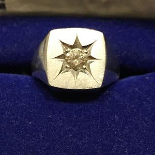 印台 ダイヤモンド リング プラチナ (リング(指輪))