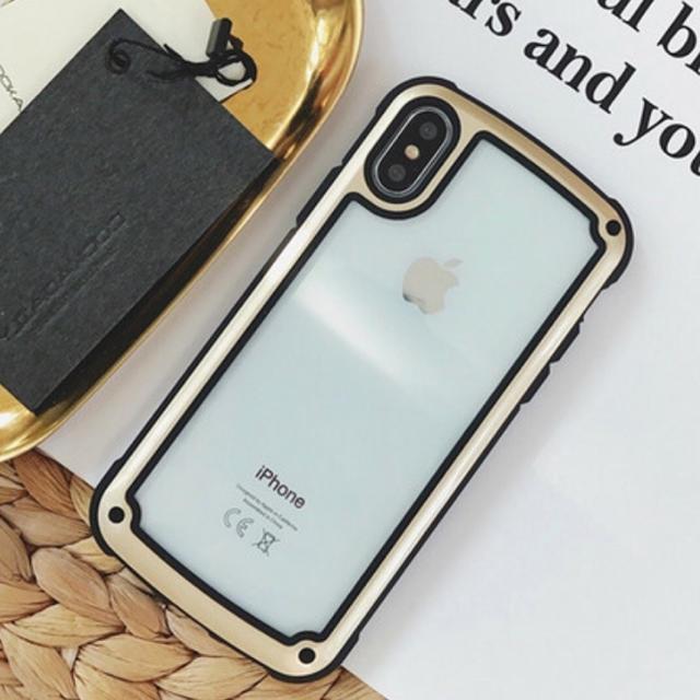 ヴィトン iphonexr ケース tpu - iPhone - iPhoneケース ゴールド バイカラーの通販 by ちむたむs' shop|アイフォーンならラクマ