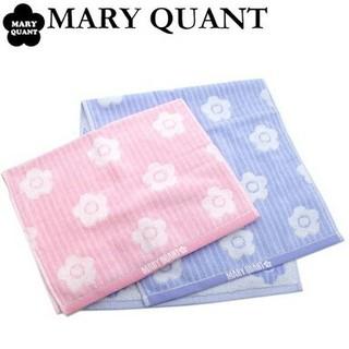マリークワント(MARY QUANT)のマリークワント フェイスタオル2枚セット(タオル/バス用品)