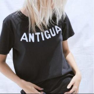 ドゥロワー(Drawer)のantigua Tシャツ(Tシャツ(半袖/袖なし))