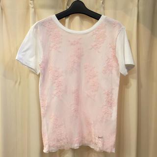 ミュウミュウ(miumiu)のmiumiu トップス(Tシャツ(半袖/袖なし))