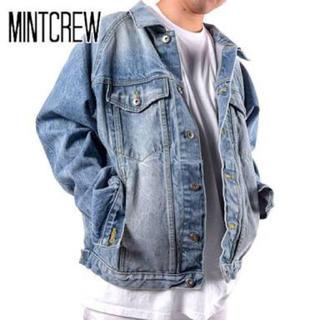 フィアオブゴッド(FEAR OF GOD)のmintcrew デニムジャケット denim raglan jacket S(Gジャン/デニムジャケット)