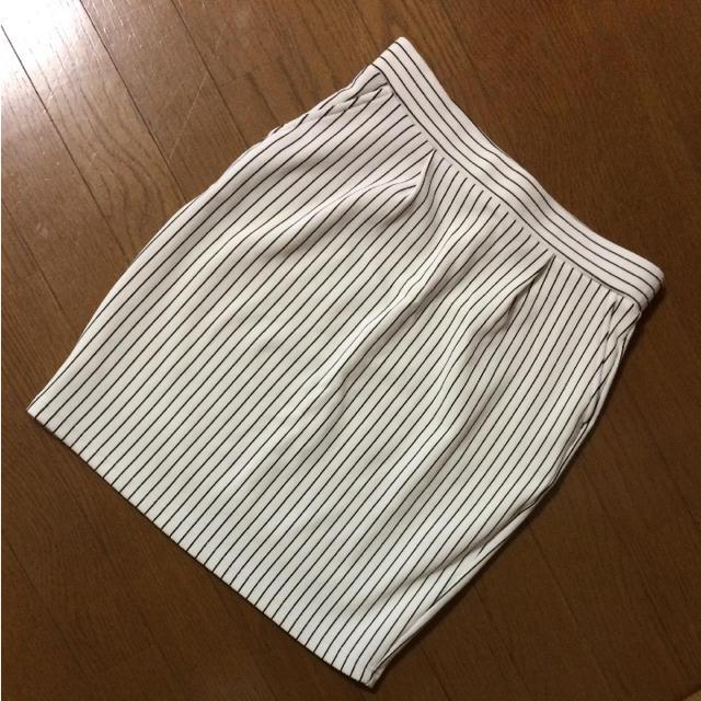 LOWRYS FARM(ローリーズファーム)の【美品】LOWRYS FARM ストライプ スカート レディースのスカート(ミニスカート)の商品写真