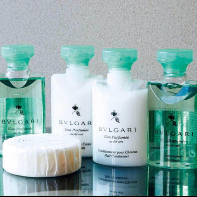 BVLGARI(ブルガリ)のブルガリ アメニティ ボディーソープ シャンプー ボディークリーム コスメ/美容のボディケア(ボディソープ / 石鹸)の商品写真