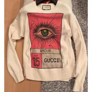 グッチ(Gucci)のGUCCI グッチ amour トレーナー スエット オールドデザイン (スウェット)