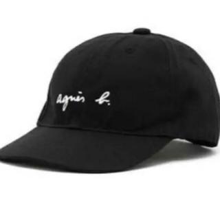 アニエスベー(agnes b.)の新品 アニエスベー キッズ ロゴ キャップ UNI(帽子)