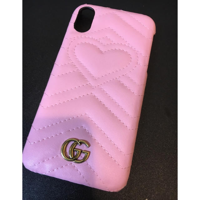 Gucci - 【即購入禁止です】GUCCI ピンク iPhoneX/XSの通販 by yama's shop|グッチならラクマ