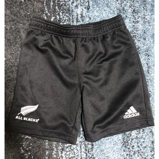 アディダス(adidas)のアディダス 2歳 92㎝ ショートパンツ ALL BLACKS(パンツ/スパッツ)