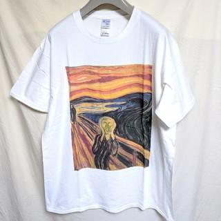 ムンクの叫び アートTシャツ(Tシャツ/カットソー(半袖/袖なし))