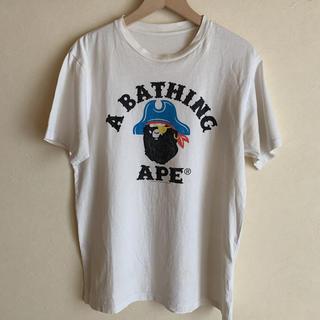 アベイシングエイプ(A BATHING APE)のA BATHING APE ア ベイシング エイプ パイレーツストア限定Tシャツ(Tシャツ/カットソー(半袖/袖なし))