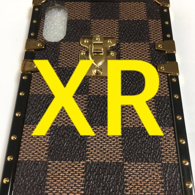 ハーフ ミラー フリップ ケース iphone8 、 iPhone XRケース/ブラウン格子/☀️スマホも着替えなきゃね❗️☀️の通販 by sahiro's shop|ラクマ