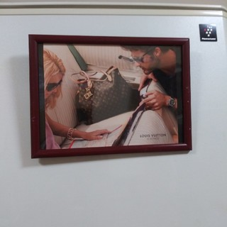 ルイヴィトン(LOUIS VUITTON)のルイヴィトンインテリアポスター(フォトフレーム)