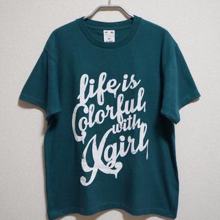 エックスガール(X-girl)のX-girl life is colorful TEE(Tシャツ(半袖/袖なし))