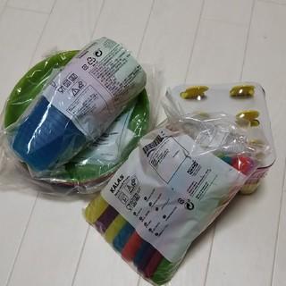 イケア(IKEA)のIKEA  カトラリー  コップ  スプーン  アイス  新品 お皿(カトラリー/箸)