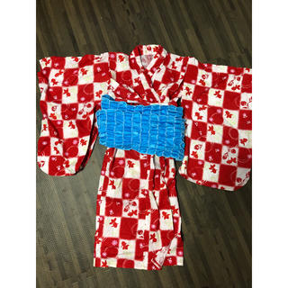ユニクロ(UNIQLO)のユニクロ 子供浴衣 サイズ110センチくらい(甚平/浴衣)