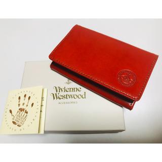 ヴィヴィアンウエストウッド(Vivienne Westwood)のヴィヴィアンウエストウッド 名刺入れ カードケース ヴィヴィアン(名刺入れ/定期入れ)