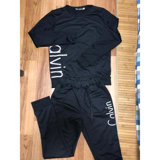 カルバンクライン(Calvin Klein)の新品未使用 カルバンクライン スウェット セットアップ★(ルームウェア)