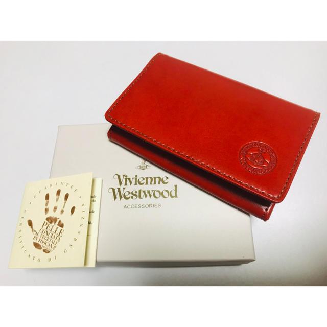 Vivienne Westwood(ヴィヴィアンウエストウッド)のヴィヴィアンウエストウッド 名刺入れ カードケース ヴィヴィアン レディースのファッション小物(名刺入れ/定期入れ)の商品写真
